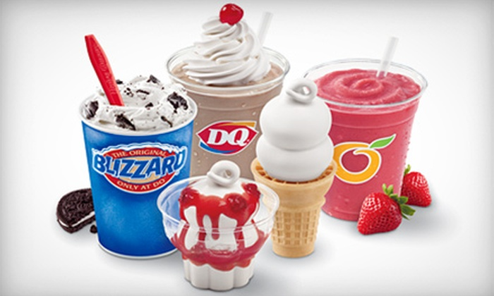 Dairy Queen - Toms River: Ice Cream and Cakes at Dairy Queen (Half Off). Three Options Available.