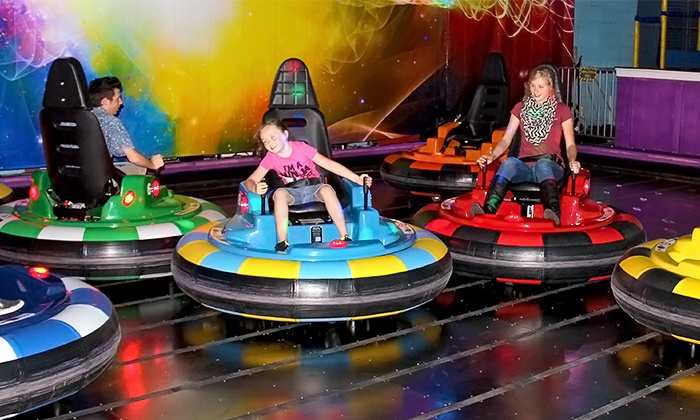 The Factory - Franklin: Bumper-Car Rides and Arcade Credits at The Factory (Up to 46% Off). Two Options Available.