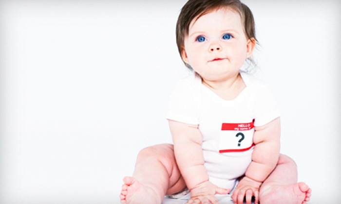 Groupon Names Your Baby - New York City: $1,000 for Groupon to Name Your Baby ($1,000 Value)