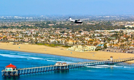 $139 for a Flight Lesson in a Single Engine Cessna at Orange County Flight Center ($277 Value)