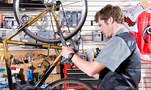 Sklep sportowy Olimpijczyk: Serwis rowerowy z kontrolą działania podzespołów i więcej od 49,99 zł w sklepie sportowym Olimpijczyk – 2 lokalizacje