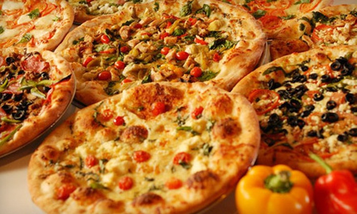 Russo's New York Pizzeria - Alvin-Pearland: Pizzeria Food at Russo's New York Pizzeria (Half Off). Two Options Available.
