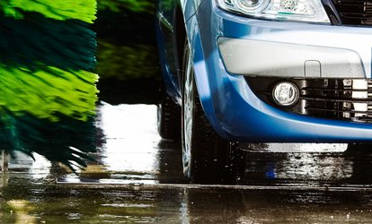 image for Newport Centra Car Wash: Platinum Service With Wax and Wheel Wash for €5
