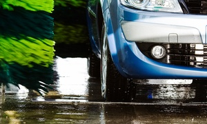 Newport Centra Car Wash: Newport Centra Car Wash: Platinum Service With Wax and Wheel Wash for €5