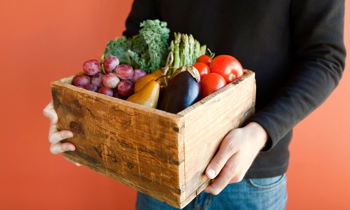 Nature's Garden Delivered: $22 for $40 Worth of Organic-Produce Boxes from Nature's Garden Delivered