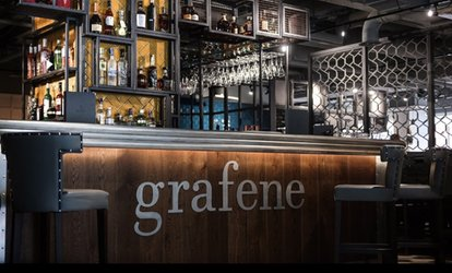 image for British Tapas to Share and Glass of Prosecco Each for Two or Four at Grafene on King Street Manchester (32% Off)