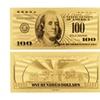 24-Karat Gold Plated Replica $100 Bill