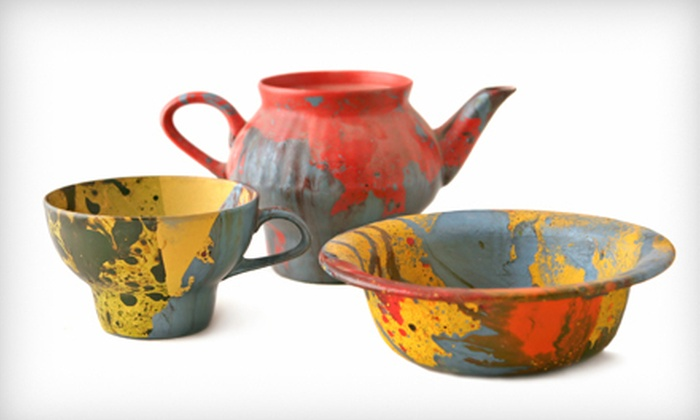 Ceramics a la Carte - Canton: Three-Hour Pottery-Painting Class for Two or Four at Ceramics a la Carte (Up to 61% Off)