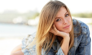 Corasp the Salon: Salon Packages with Color, Partial Highlights, or Sombré or Ombré Coloring at Corasp The Salon (Up to 62% Off)