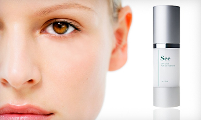 Ethos Dark Circle and Puffy Eye Serum: $25 for Ethos See Dark Circle and Puffy Eye Treatment ($145 Value). Shipping Included.
