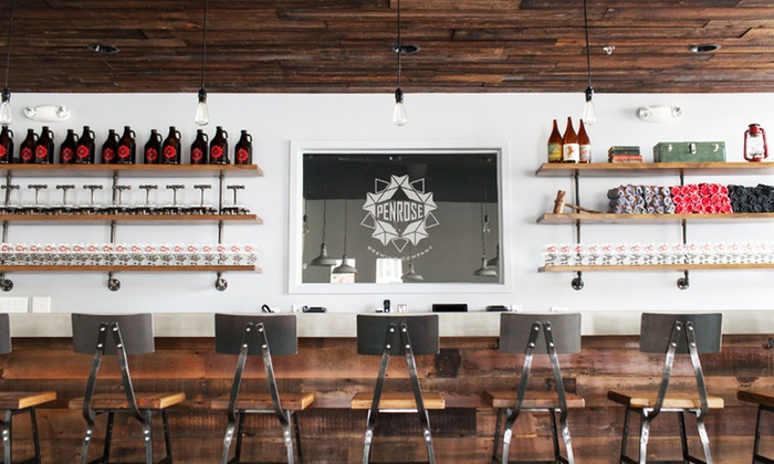 Penrose Brewing Company - Geneva: $15 for a Brewery Tour for Two or Four with Beer at Penrose Brewing Company ($20 Value)