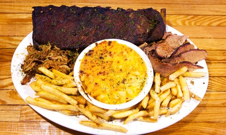 Ribs Dinner with Sides and Drinks for Two or Four or $15 for $30 Worth of Barbecue Lunch at R.U.B. BBQ