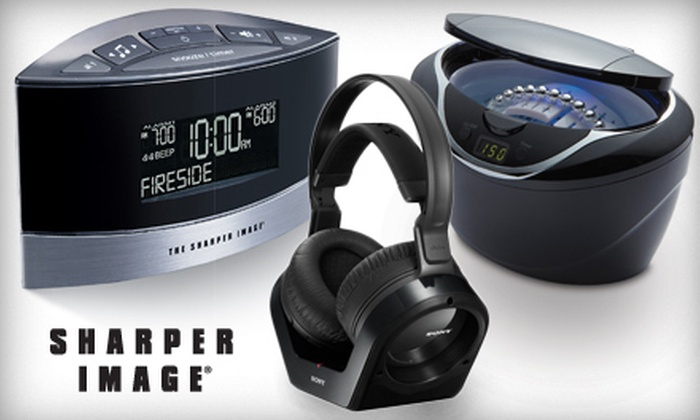 Sharper Image: $25 for $50 Worth of Electronics and Gadgets from SharperImage.com
