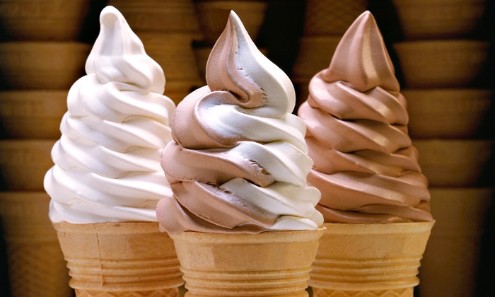 Applegate Farm - Freehold: Vanilla and Chocolate Ice-Cream Cake or Punch Card for 10 Soft-Serve Ice-Cream Cones at Applegate Farm (Up to 54% Off)