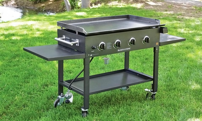 "Blackstone 36"" Griddle Cooking Station and Accessories: $299.99 for a Blackstone 36"" Griddle Station with Cover and Accessories ($361.97 List Price). Free Shipping."