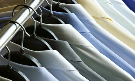 $47 for $100 Worth of Dry Cleaning and Laundering at McPherson Cleaners