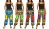 NF Dashiki Pattern Cotton Pants