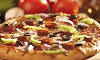 GROUPON: Up to 44% Off from Red Tomato Pizzeria Red Tomato Pizzeria
