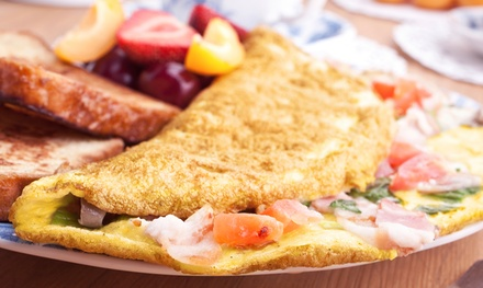 Breakfast for Two, Four, or Take-Out or Delivery from Commercial Point Cafe (Up to 47% Off)