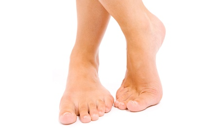 $149 for One Comprehensive Laser Toenail Fungus Treatment on Ten Toes at HCS Medspa ($450 Value)