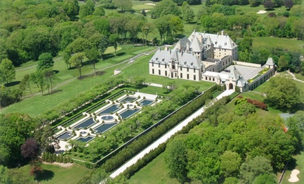 1-Night Stay with Castle Tour at Oheka Castle Hotel and Estate in Huntington, NY. Combine up to 2 Nights.