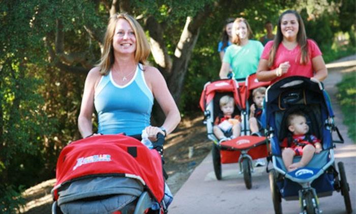 Stroller Strides - Pineville: 5 or 10 Stroller Fitness Classes at Stroller Strides (Up to 68% Off)