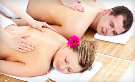 Couples Massage, Facial, and Back Scrub, or a Microdermabrasion Facial at ZenzaSpa Wellness Boutique (Up to 67% Off)