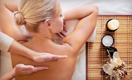 One 1-hour Swedish or deep tissue massage