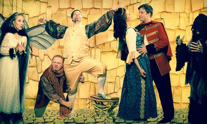 """The Emperor's New Clothes"" or ""Sleepy Hollow"" - Mimi's Cafe Layton: Salty Dinner Theater presents ""The Emperor's New Clothes"" or ""Sleepy Hollow"" at Mimi's Cafe (Up to 40% Off)"