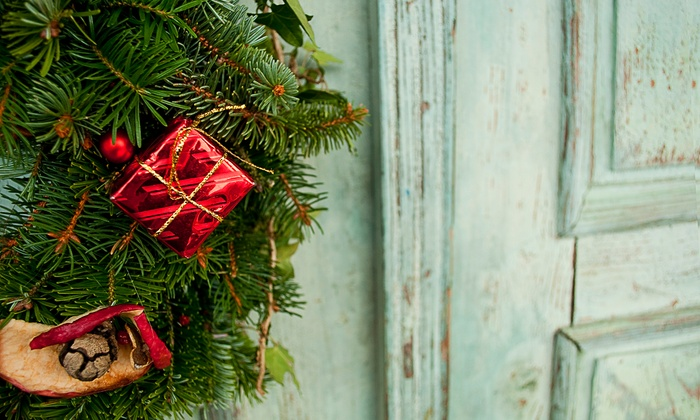 Alpine Tree & Wreath - Greenwood: Garland, Wreath, and Tree, or $20 for $40 Worth of Holiday Greenery at Alpine Tree & Wreath