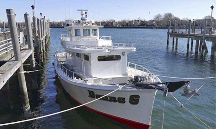 Donna G - Brooklyn: Half-Day Fishing Charter for One, Two, or Four from Donna G, LLC (Up to 56% Off)