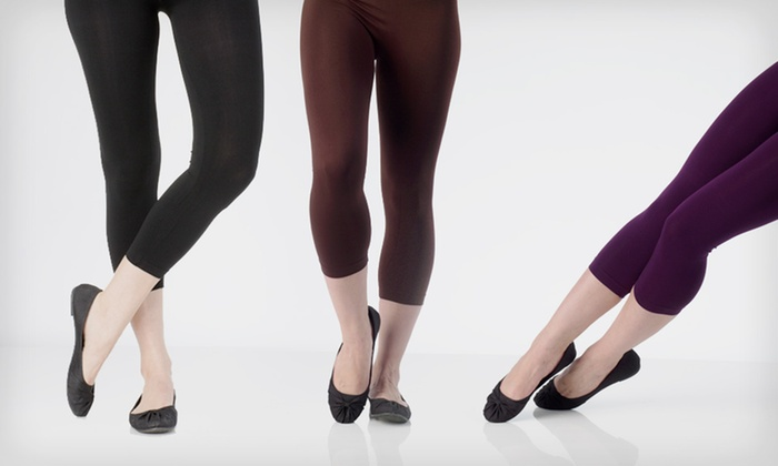 Mopas Leggings or Tights: $16 for a Two-Pack of Mopas Footless Leggings or Tights ($36 List Price). Multiple Styles Available. Free Shipping.