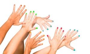Lipstick and Gunpowder: Choice of Manicure at Lipstick and Gunpowder (Up to 52% Off)