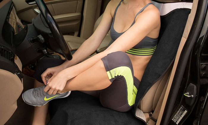 Post Workout Towel Car Seat Cover