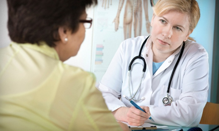AMG Medical Group - Multiple Locations: $59 for a Medical Checkup with Blood Work at AMG Medical Group ($200 Value)