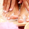Up to 42% Off a Pedicure or Shellac Polish