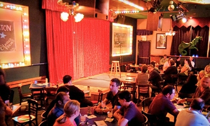 Rooster T. Feathers Comedy Club - Heritage District: Comedy Show for Two or Four at Rooster T. Feathers Comedy Club in Sunnyvale (Up to 78% Off)