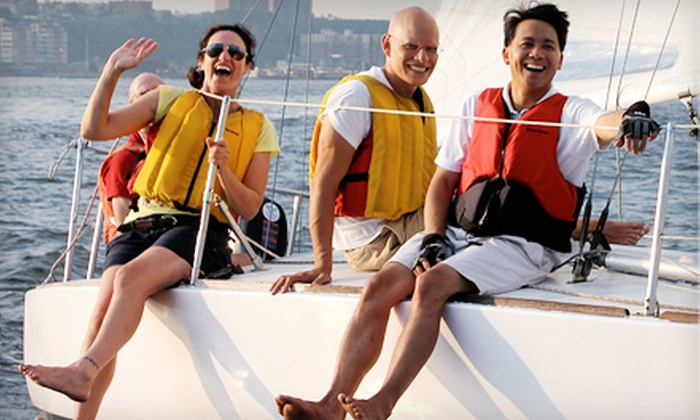 Hudson River Community Sailing - Chelsea: Breakfast Sail for One or Two or Sunset Sail for One from Hudson River Community Sailing (Up to 48% Off)