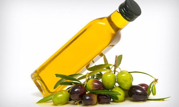 The Olive and The Grape - Multiple Locations: $30 for a Gourmet Sampler Package with Class Voucher at The Olive and The Grape ($75 Value). Two Locations Available.