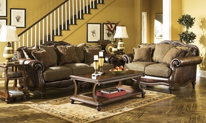 Discount Furniture Warehouse: Furniture and Mattresses at Discount Furniture Warehouse (50% Off). Three Options Available.