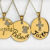 $19 for an Inspirational-Pendant Necklace