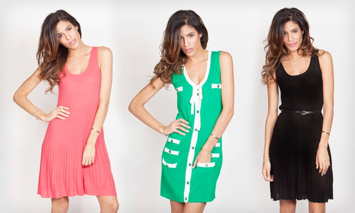 Yuka Paris Dresses: $27.99 for a Yuka Paris Dress ($69.98 list price). 3 Styles and Multiple Colors Available. Free Shipping and Returns.