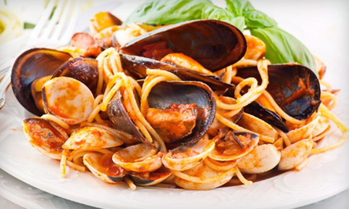The Vines Pasta Grill - Dartmouth: Italian Cuisine and Drinks for Dinner at The Vines Pasta Grill (Half Off). Two Options Available.