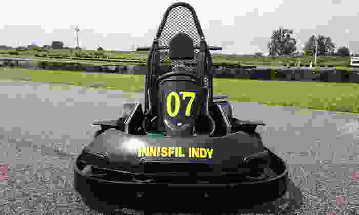 Innisfil Indy Karting - Gilford: 20 or 40 Laps of Go-Karting at Innisfil Indy Karting (Up to 51% Off)