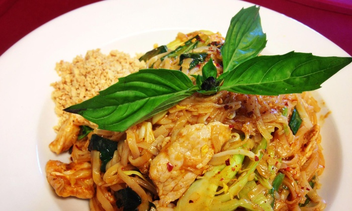 Thai Place Restaurant - Old Westport: Thai Cuisine at Thai Place Restaurant (Up to Half Off). Two Options Available.