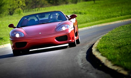 $179 for 30-Minute Ferrari Experience with Test Drive from Ottawa ECR Inc. ($299 Value)