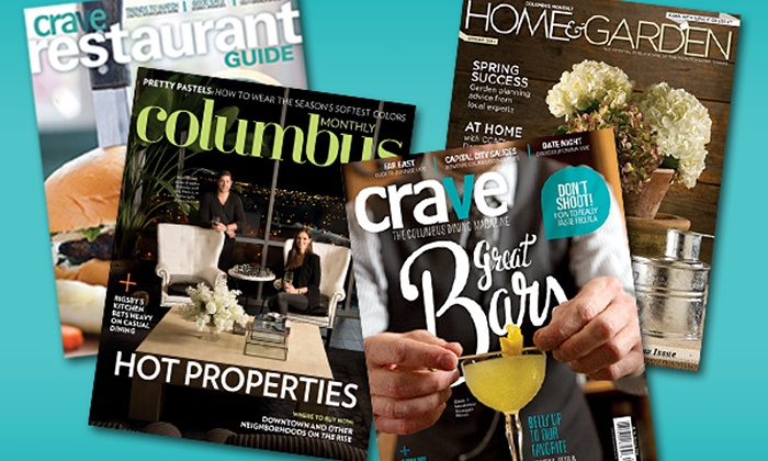 """Columbus Monthly Magazine - Columbus: One- or Two-Year Subscription to """"Columbus Monthly"""" Magazine (Up to 49% Off)"""