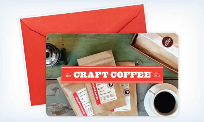 Craft Coffee: $49.99 for a Three-Month Subscription of Curated Coffee Samples from Craft Coffee ($89.97 Value)