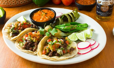 Authentic Mexican Lunch or Dinner at El Nuevo Rodeo Restaurante (50% Off)