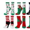 Women's Christmas-Themed Happy Socks (6-Pack)